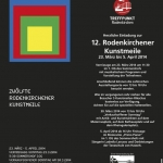 Flyer Rodenkirchener Kunstmeile